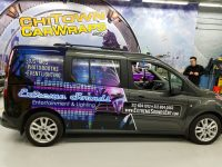 Partial Vehicle Wrap Example