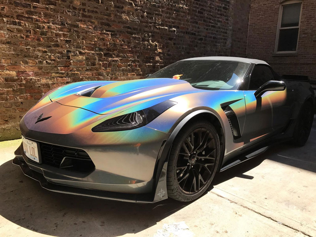 Color Changing Wrap Example