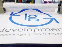 Banner Printing Example
