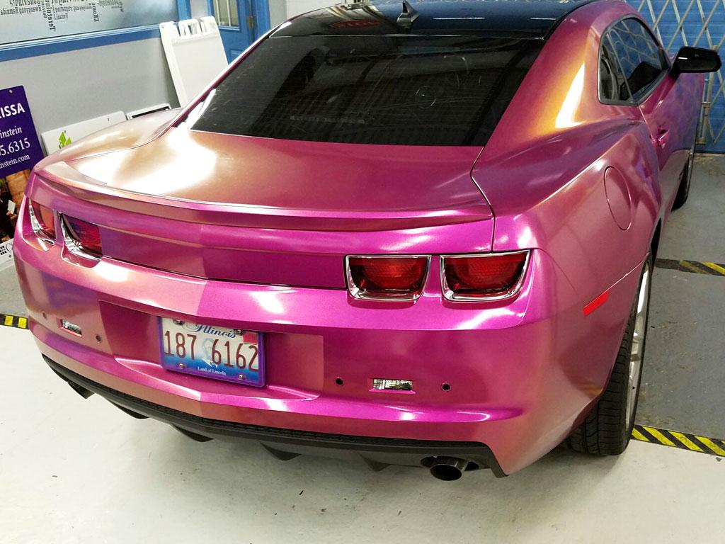 Color Changing Car Wraps