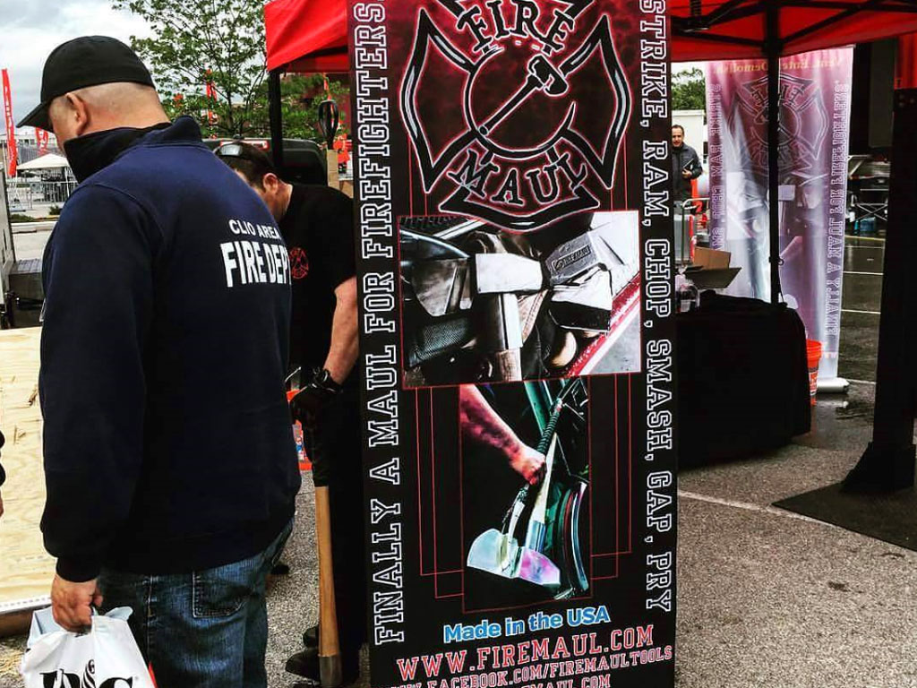 Trade Show Sign Example