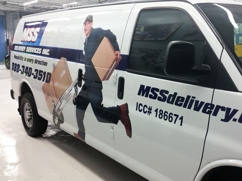 Truck Wrap Example
