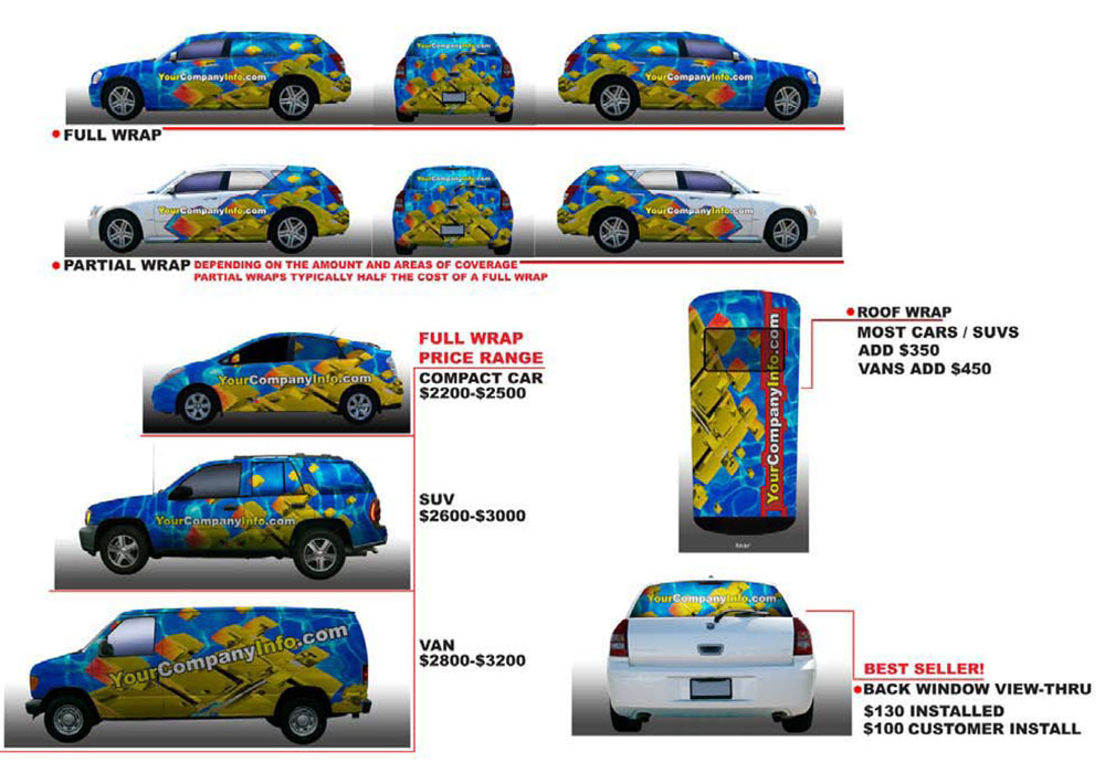 Vehicle Wrap Cost >> What Is A Car Vehicle Wrap In Sight Sign Company