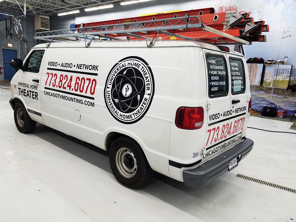 Vehicle Graphics & Lettering Example